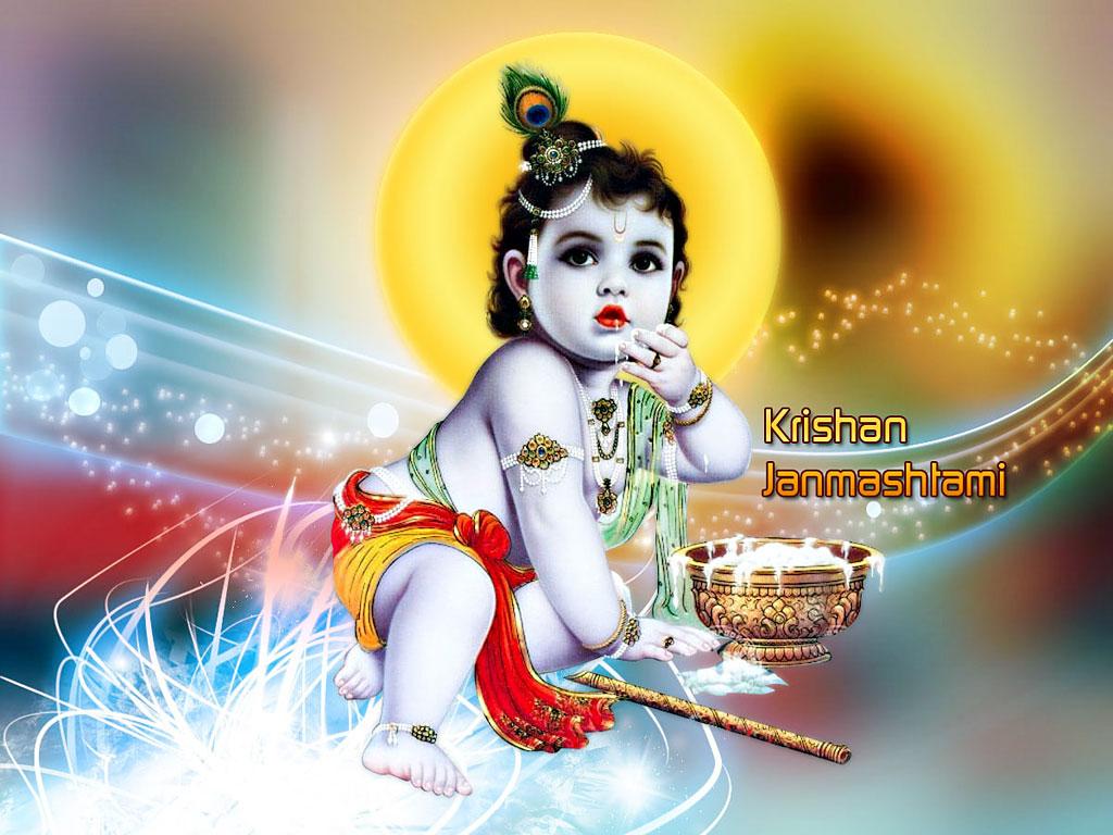 Sri krishna jayanti wallpaper - Beautiful Lord Krishna Wallpaper Happy Janmashtami Picture
