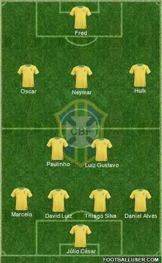 Brasil jogo copa confederações 30 junho 2013