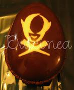 Huevos de Pascuas con diseño huevos