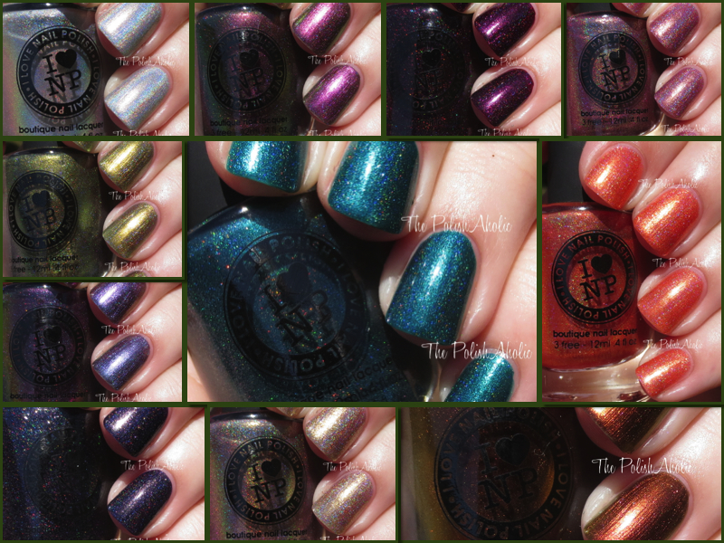 The PolishAholic: I Love Nail Polish Fall 2014 Collection Swatches ...