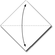 cara membuat origami ikan paus