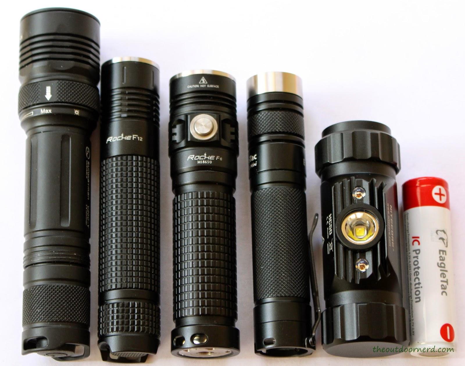 EagleTac D25LC2 Mini 18650 Flashlight With Friends 3