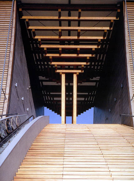 Architecture Aesthetics Japanese Pavilion For Expo