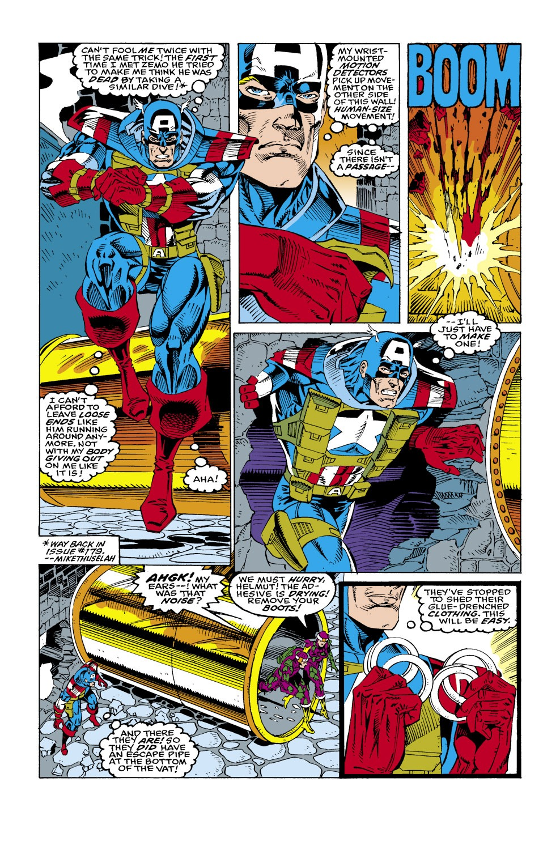 Captain America (1968) Issue #434 #384 - English 3