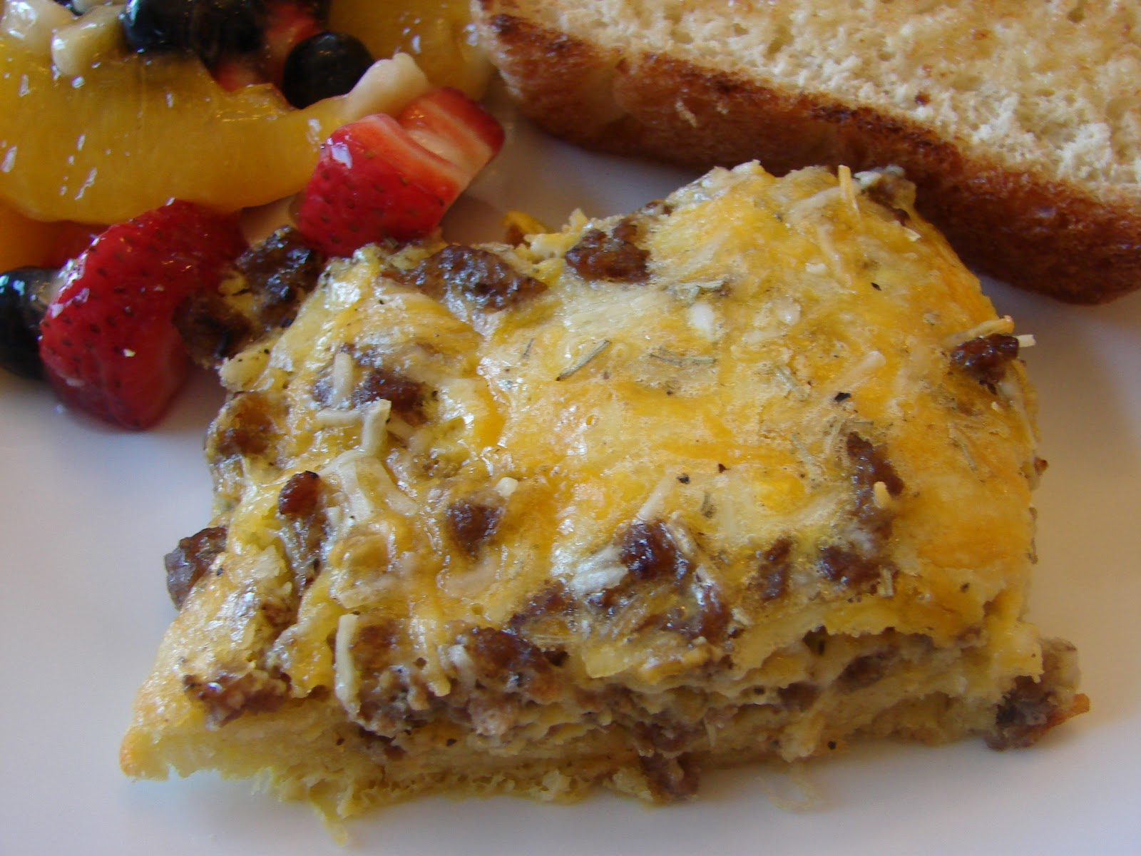 Bear in the Kitchen: Sausage Breakfast Casserole