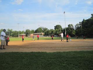 Little league machine pitch