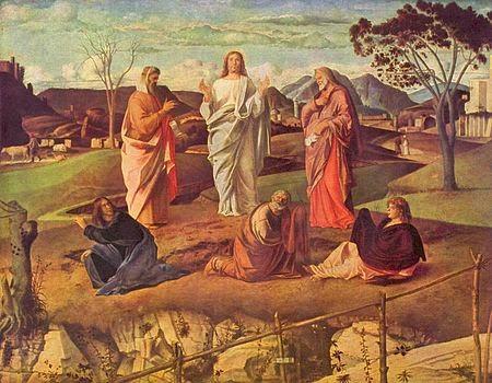 La Transfiguración de Giovanni Bellini de Italia
