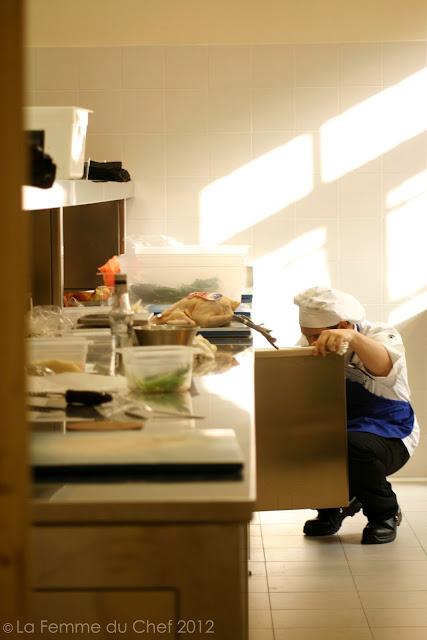 La femme du chef parma un po 39 francese molto gourmande - Scuola di cucina alma ...