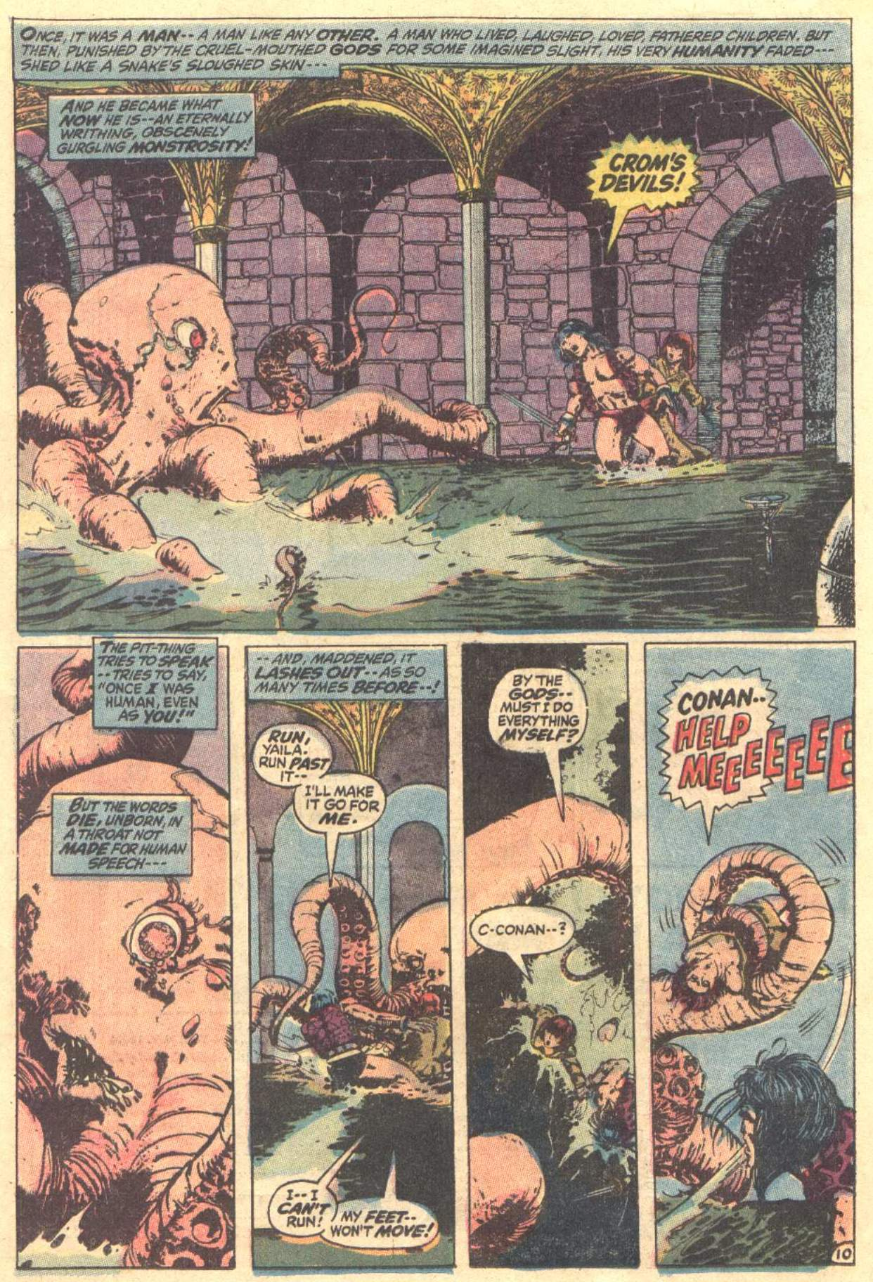 Conan the Barbarian (1970) Issue #12 #24 - English 11