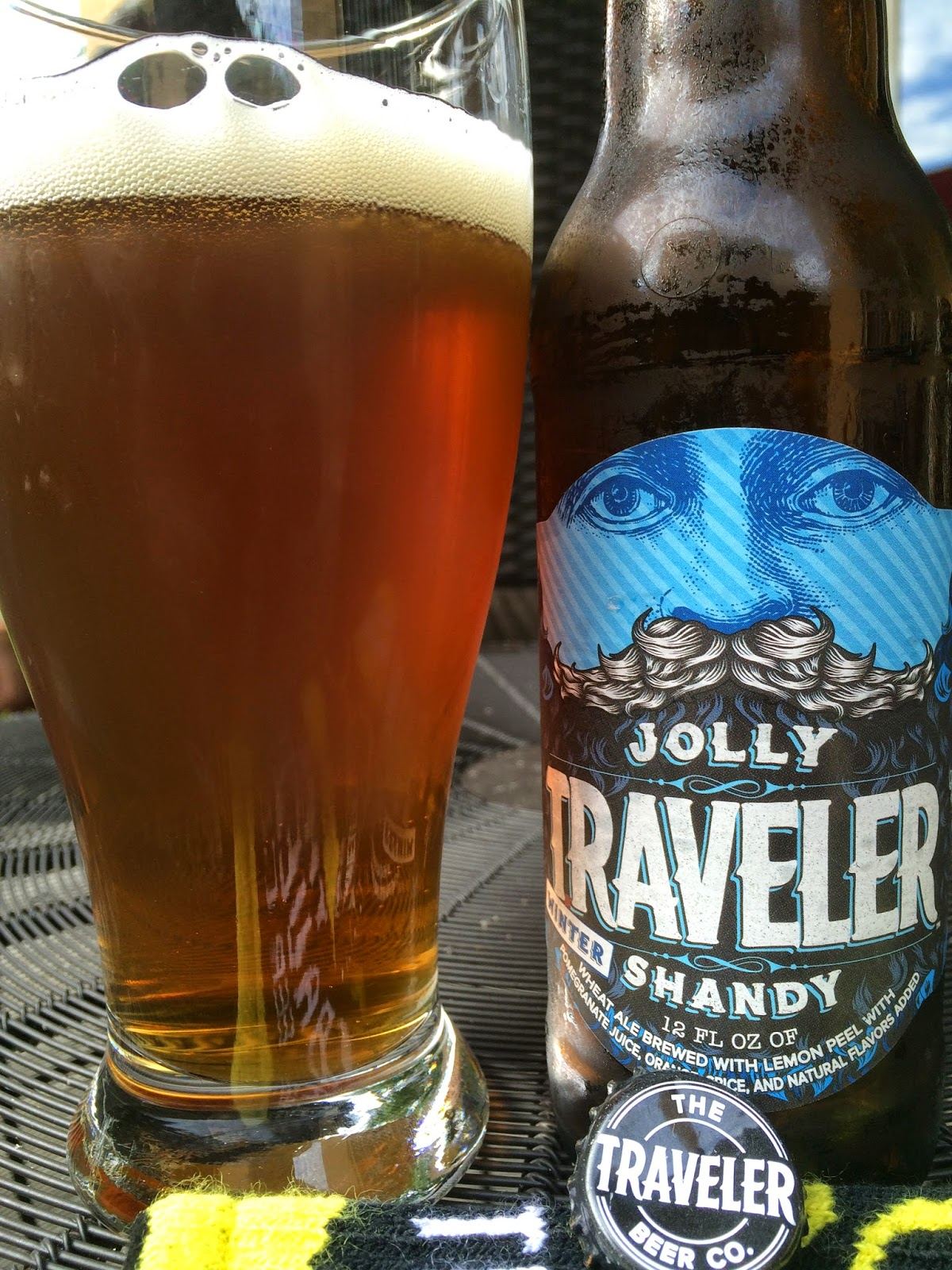 daily beer review jolly traveler winter shandy