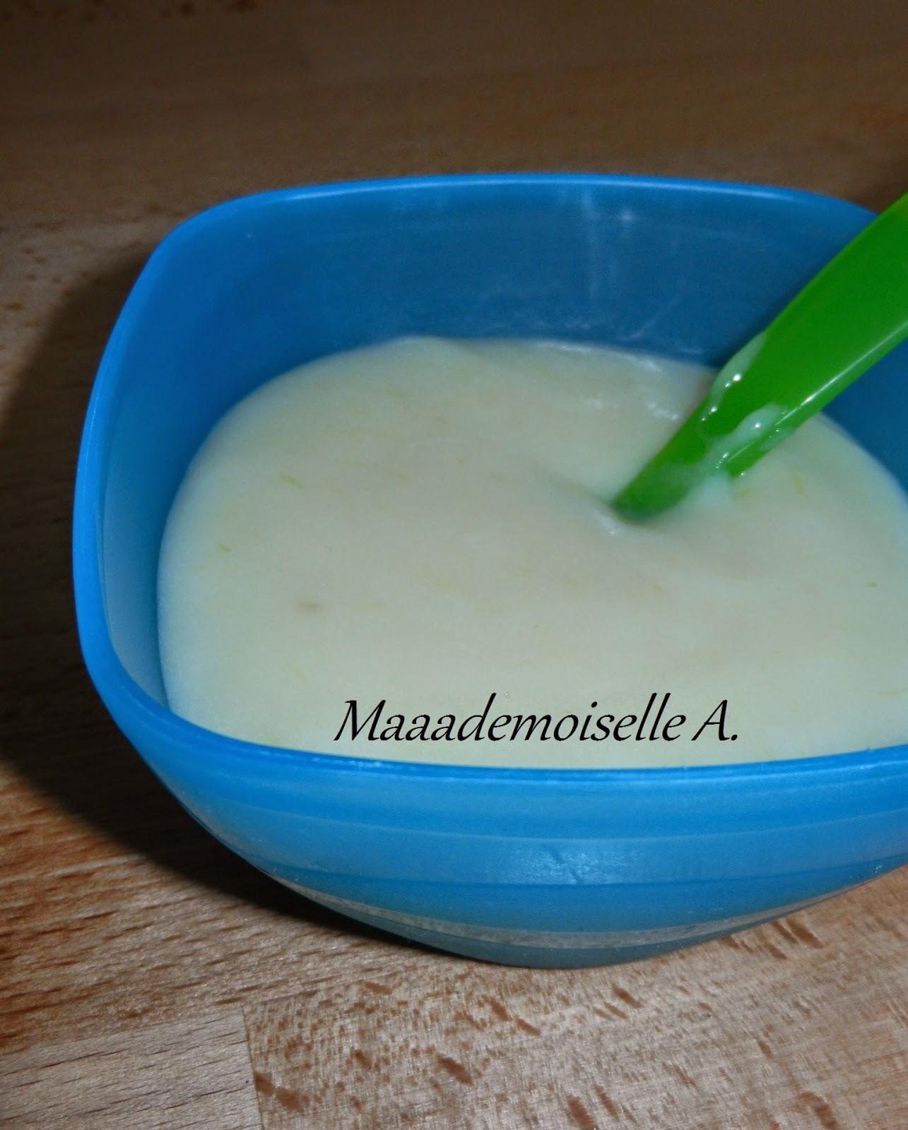 maaademoiselle a recette de petit pot pour b 233 b 233 pur 233 e pomme de terre poireau