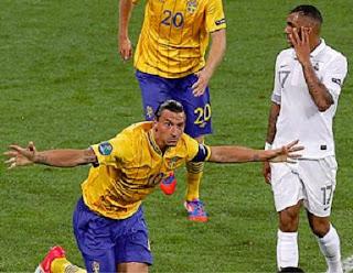 أهداف مباراة السويد وفرنسا 2-0 في بطولة اليورو 19-6-2012