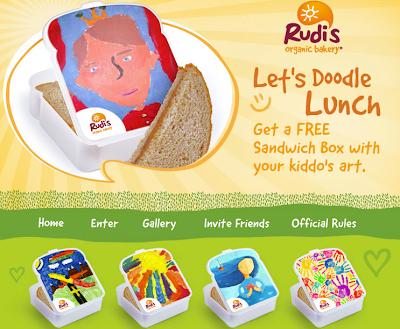 Rudi's Bakery Sandwich Box Giveaway Image