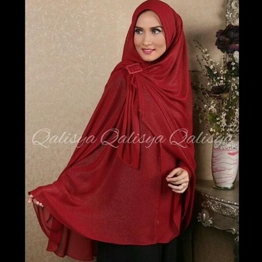Vidia O Shop Hijab Corner Khimar Syar I Halwa Xxl By Qalisya