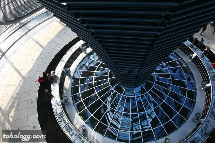 The Reichstag dome / Купол Рейхстага