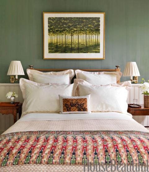 Beautiful Colore Verde Per Camera Da Letto Pictures - Design Trends ...