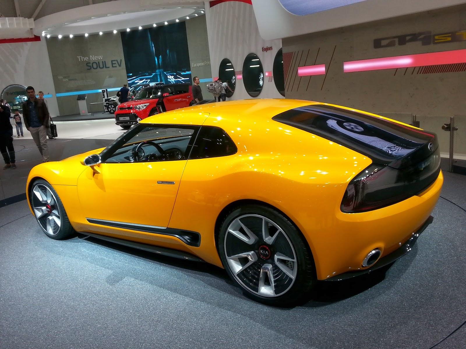 Salão do Automóvel em Genebra.