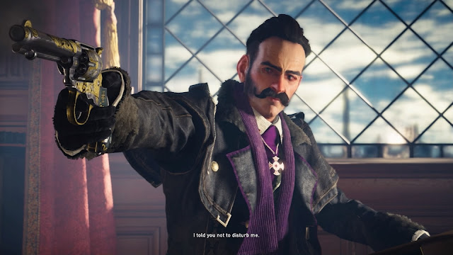 Assassin's Creed Syndicate crawford starrick pistol