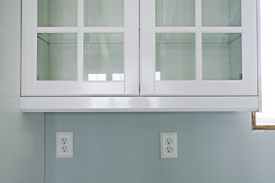 Beautiful IKEA Cabinets Are Simple White Boxes Which Are Then Covered With Panels To  Match The Door Styles. You Can See Above The Panels Are Designed To Go  Below The ...