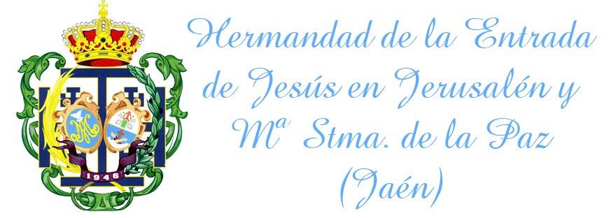 Hermandad de la Entrada de Jesús en Jerusalén y Mª Stma de la Paz