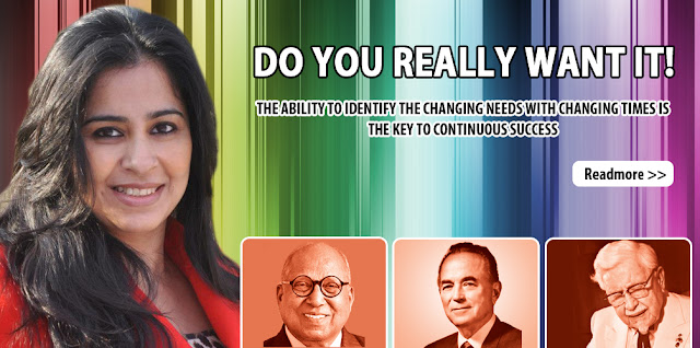 Prof. Rajita Chaudhuri on 'DO YOU REALLY WANT IT!'