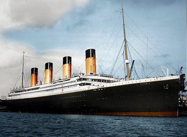 Fotograf as de la construcci n del titanic taringa - Construccion del titanic ...