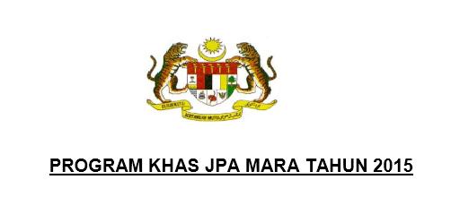 Permohonan Program Khas MARA JPA 2015 Lepasan SPM Online