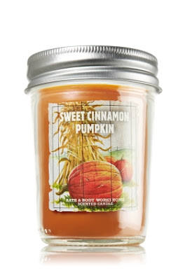 Bath & Body Works, Bath & Body Works Sweet Cinnamon Pumpkin Mason Jar Candle, candle, home fragrance, Thanksgiving scents, pumpkin beauty products
