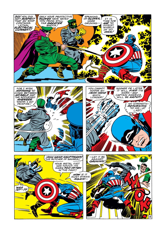 Captain America (1968) Issue #104 #18 - English 15