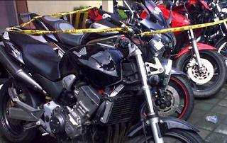 Diduga Bodong, 4 Harley Davidson diamankan oleh Polres Tabanan