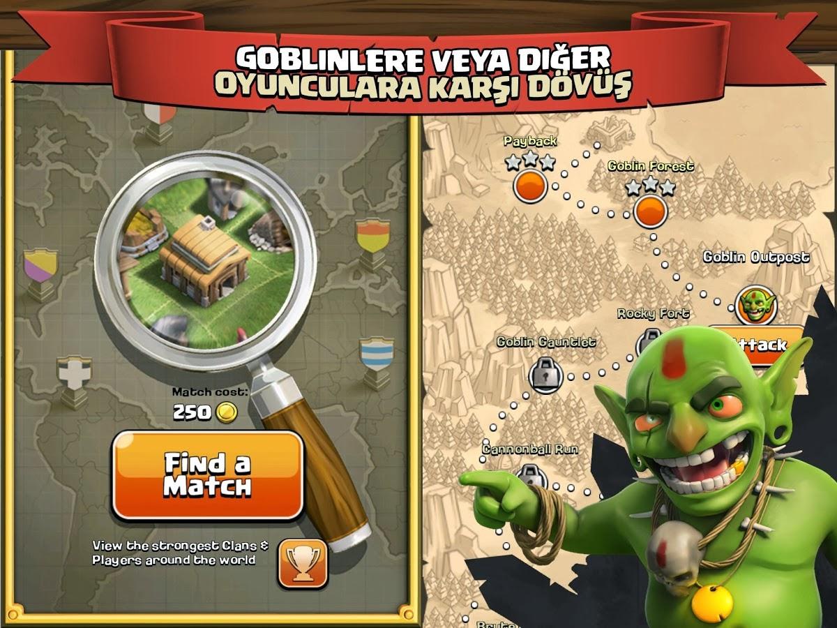 Clash Of Clans 4 Clash of Clans v5.113.2 Hileli Mod Full Apk indir