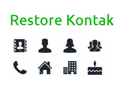 Restore Kontak pada Perangkat Android