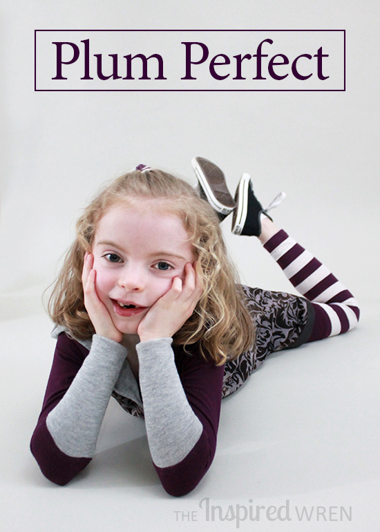 Plum Perfect by The Inspired Wren for Project Run & Play, Season 11 Week 1: Knits!