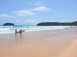 Kata Beach Phuket best surfing spot