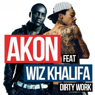 Akon ft. Wiz Khalifa - Dirty Work Lyrics