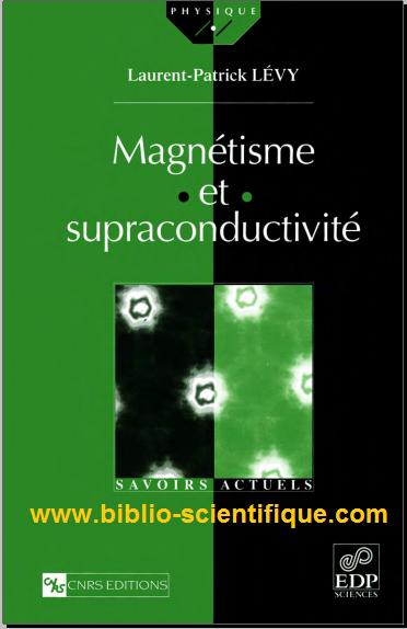 Ce livre donne une vision moderne de magnétisme et la supraconductivité, qui couvre à la fois le microscopique et les aspects phénoménologiques. Les concepts de base sont illustrés par des sujets de recherche actuels tels que l'effet Hall quantique et les aspects mésoscopiques de la supraconductivité. L'auteur utilise systématiquement des exemples ou des arguments très intuitive pour donner au lecteur une idée de formalisme. Ce livre est destiné aux étudiants de maîtrise ou troisième cycle de la physique de la matière condensée, ainsi que des étudiants en génie. Il est une référence sérieuse permet également aux enseignants et aux chercheurs de s'attaquer à ces zones ou approfondir Cet ouvrage donne une vision moderne du magnétisme et de la supraconductivité, dont il couvre à la fois les aspects microscopiques et phénoménologiques. Les notions de base sont illustrées à l'aide de sujets de recherche actuels comme l'effet Hall quantique ou les aspects mésoscopiques de la supraconductivité. l'auteur emploie systématiquement des exemples ou des arguments très intuitifs pour donner au lecteur le sens du formalisme utilisé. --Ce texte fait référence à l'édition Broché  Une vision moderne du magnétisme et de la supraconductivité qui traite des aspects microscopiques et phénoménologiques. Les notions de base sont illustrées à l'aide de sujets de recherche. L'auteur emploie systématiquement des exemples ou des arguments très intuitifs pour donner au lecteur le sens du formalisme utilisé.  Laurent-Patrick Lévy est membre de l'Institut universitaire de France et professeur à l'université Joseph-Fourier  Auteur : Laurent-Patrick Lévy Editeur : EDP Sciences Collection : Savoirs Actuels MAGNETISME Champs et induction magnétique Thermodynamique Magnétisme orbital et de spins sans interaction Interactions d'échange Transitions de phases Champ moyen Modèle d'Ising Le modèle X-Y Réponse linéaire Ondes de spins Chaînes de spins quantiques Magnétisme itinérant SUPRACONDUCTIVITE Aspects