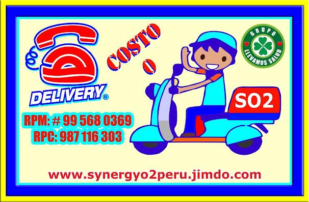 SERVICIO DELIVERY EN PERU