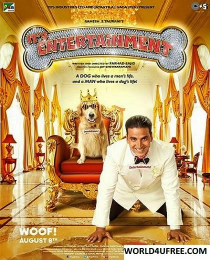Entertainment 2014 Hindi 720p BluRay 1.1GB AC3 5.1 Mafiaking