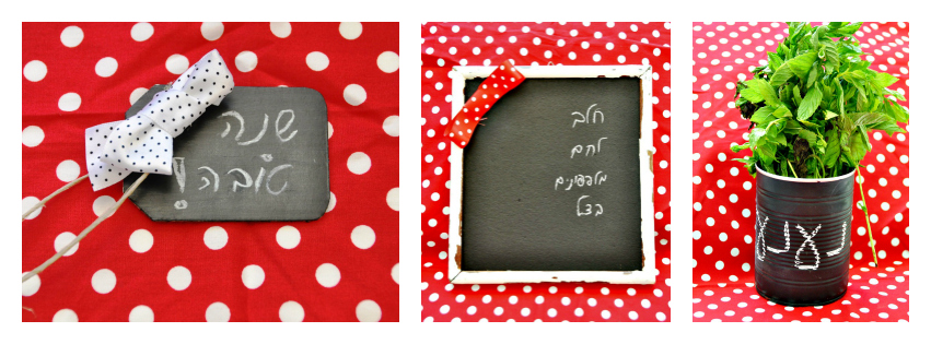 Chalkboard paint examples