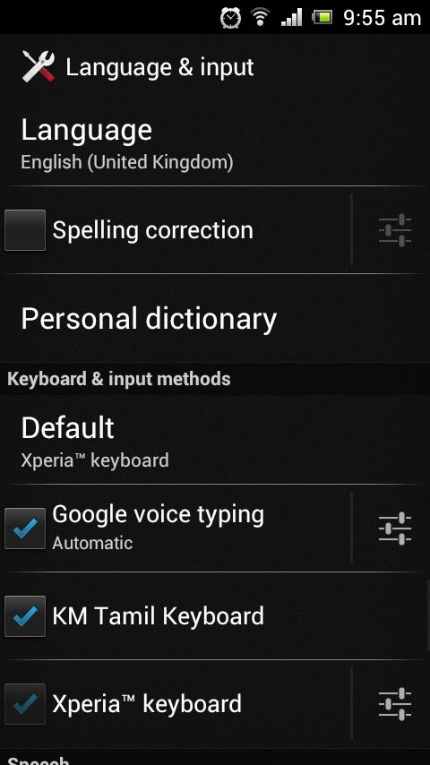 ஆண்ட்ராய்டில் தமிழ் - எழுத & படிக்க Tamil+typing+android