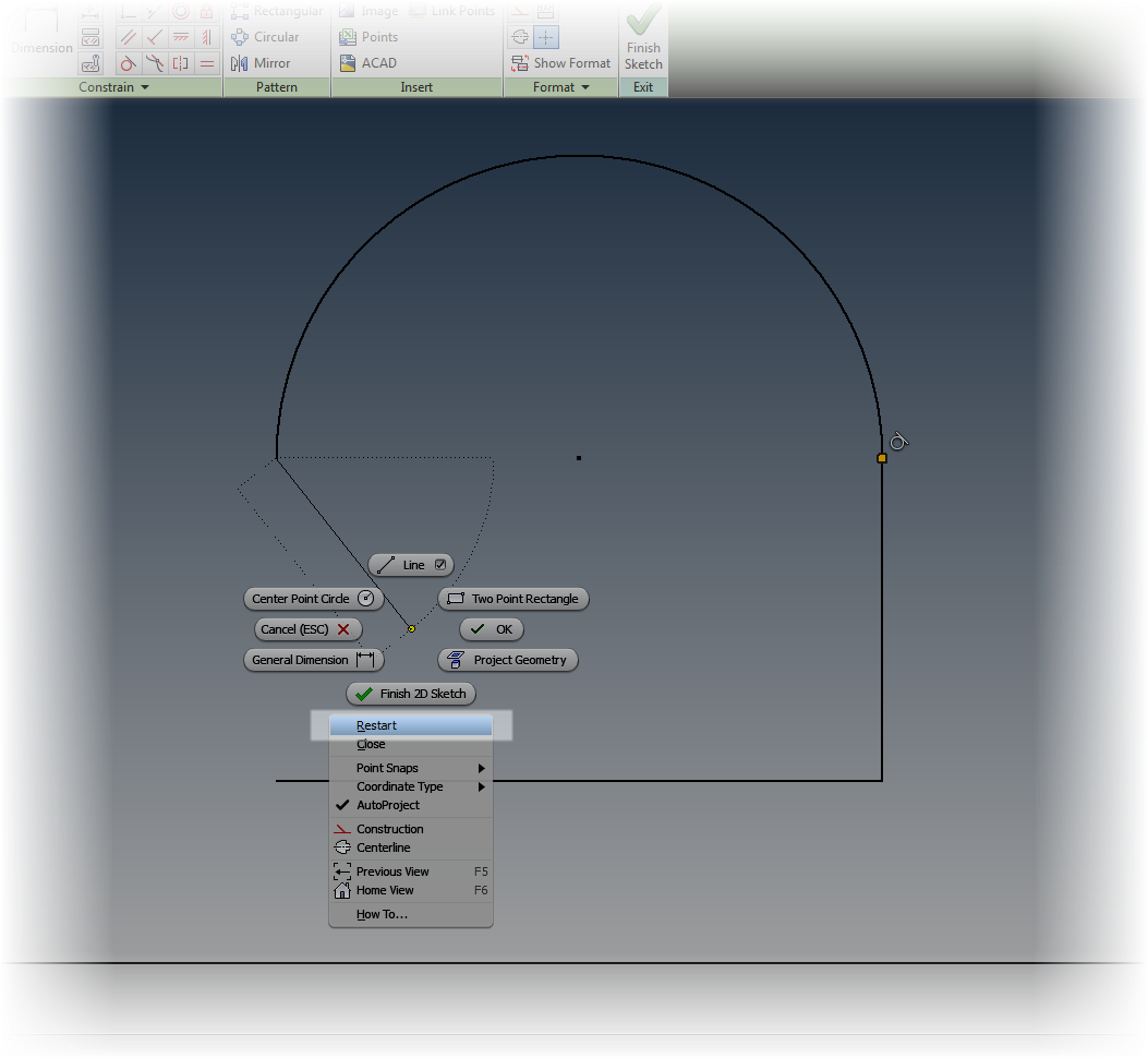 Five Quick Tips For Autodesk Inventor Sketches Inventor Tales