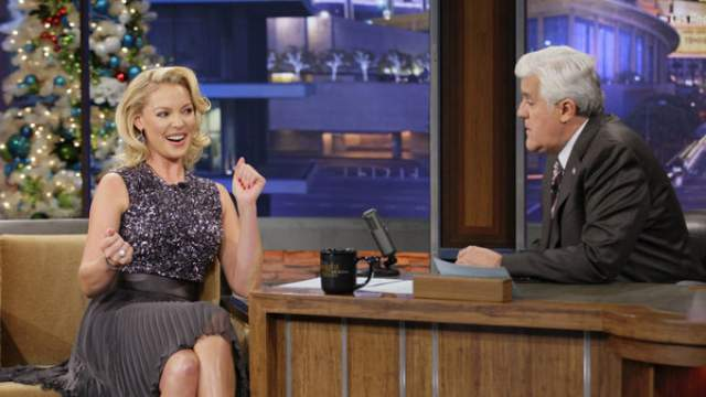 Katherine Heigl in the tonight show with jay leno regarding her second daughter