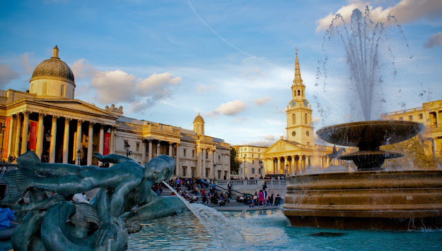 Trafalgar Square - London_wallpaper_hd