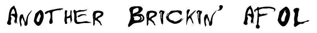 Another Brickin' AFOL
