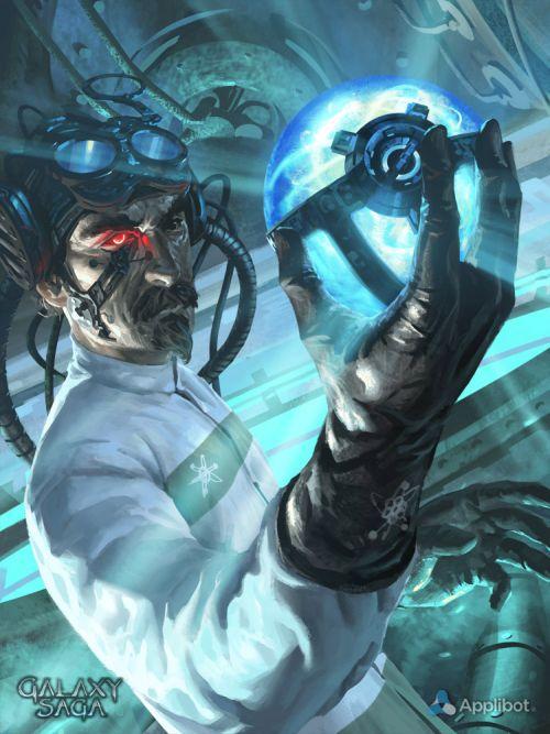 Anthony Wolff waart pinturas ilustrações digitais fantasia ficção Cientista do mal