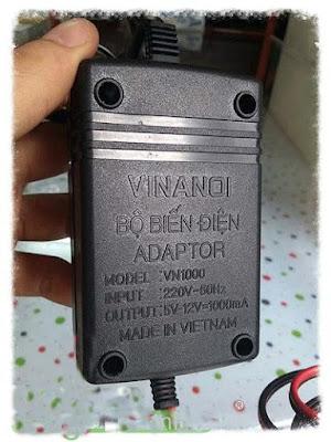 Cục sạc Adapter máy đưa võng tự động