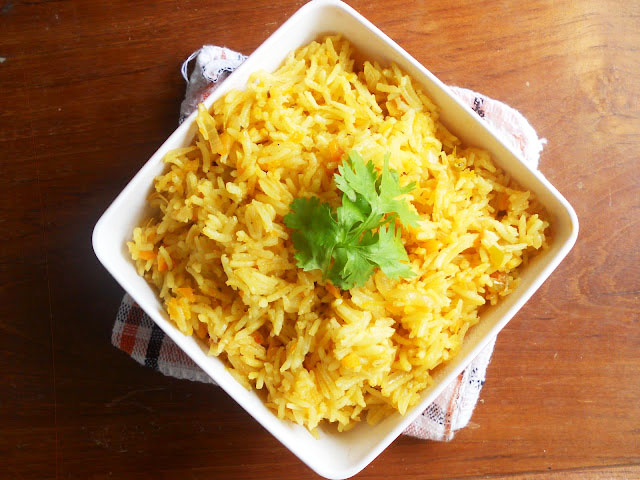 Cooking Is Easy: Easy Vegetable Pulav/Veg Pulao...step by step.