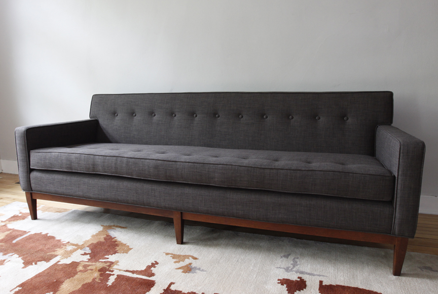 Mid Century Modern Couch. Mid Century Modern Sofa And Club Chair Couch