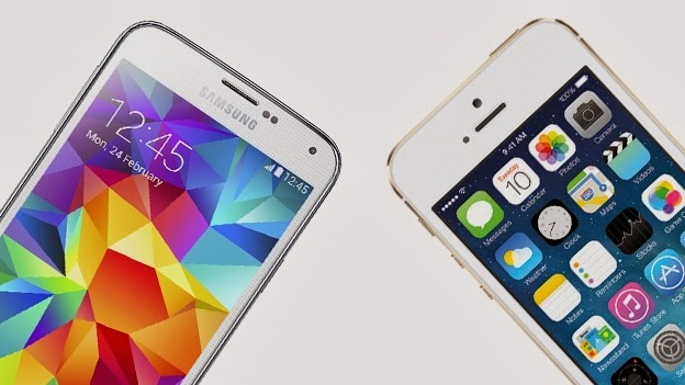S before 5 or after 5?? Samsung Galaxy S5 vs Apple iPhone 5s