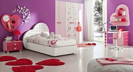 romantic girls bedroom decorating ideas
